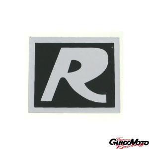 Adesivo -R- per Vespa GT, anteriore