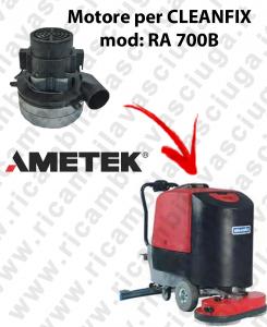 RA 700B Motore aspirazione AMETEK ITALIA per lavapavimenti CLEANFIX