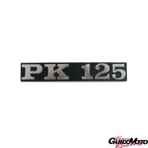 6107 TARGHETTA LATERALE VESPA PK 125 PIAGGIO