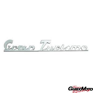 Targhetta posteriore -Gran Turismo.- per Vespa GT  5732-P
