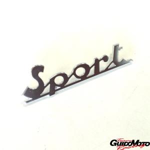 Targhetta posteriore -Sport- per Vespa