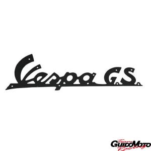 Targhetta anteriore -Vespa G.S.- per Vespa