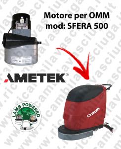 Motore LAMB AMETEK di aspirazione X lavapavimenti OMM SFERA 500