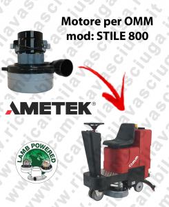 Motore LAMB AMETEK di aspirazione per Lavapavimenti OMM STILE 800
