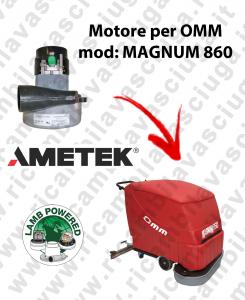 Motore LAMB AMETEK di aspirazione X lavapavimenti OMM MAGNUM 850