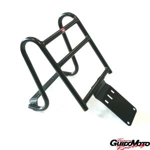 Portapacchi/portabauletto posteriore nero Vespa PX-PE
