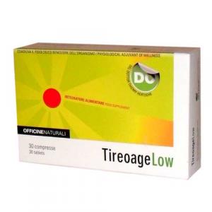 TIREOAGE LOW - BENESSERE NATURALE PER GLI IPOTIROIDEI- Integratore Alimentare Utile Per il Riequilibrio Metabolico.