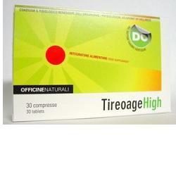 TIREOAGE HIGH - NATÜRLICHES BENEFIT FÜR IPERTIROIDS - Unterstützt geistige und metabolische Entspannung und Wohlbefinden.