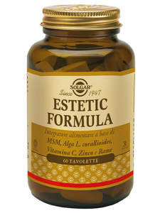 ESTETIC FORMULA-HAIR, SKIN AND NAILS-VITAMIN C AND ZINC