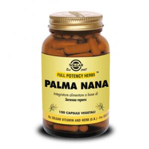 PALMA NANA (Serenoa Repens)- FUNZIONALITA' PROSTATICA E DELLE VIE URINARIE - NO GLUTINE - NO LATTOSIO