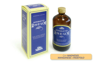 DEPURATIVE RHEUM-WITH MAGNESIUM, MANGANESE AND INOSITOL-NO DYES, NO SUGARS