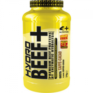 HYDRO BEEF + BEEF-HYDROLYSED PROTEINS ENRICHED WITH VITAMINS B-NATURALLY LACTOSE FREE