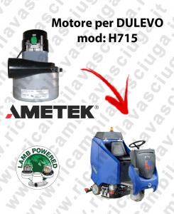 Motore Lamb Ametek di aspirazione per Lavapavimenti DULEVO H715
