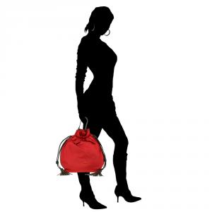 Backpack Patrizia Pepe  2V6595 A1ZL X1ZQ Brick nyl./Black