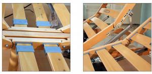 Rete Legno Motorizzata  Alzate Separate | Orange |Prezzi a partire da