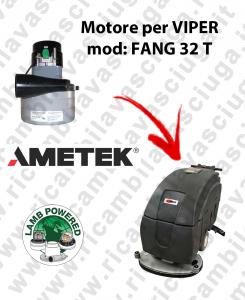 Motore Lamb Ametek di aspirazione per Lavapavimenti VIPER FANG 32 T
