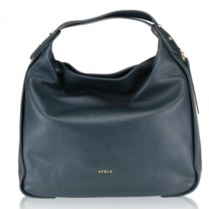 Hand and shoulder bag Furla EVA 835012 PETROLIO