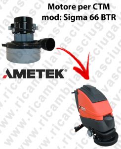 SIGMA 66 BTR MOTORE LAMB AMETEK di aspirazione per lavapavimenti CTM