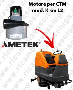 KRON L2 MOTORE LAMB AMETEK di aspirazione per lavapavimenti CTM