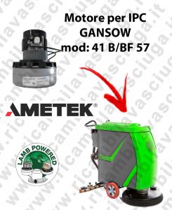 41 B/BF 57 MOTORE LAMB AMETEK di aspirazione per lavapavimenti IPC GANSOW