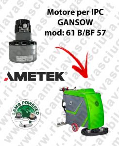 61 B/BF 57 MOTORE LAMB AMETEK di aspirazione per lavapavimenti IPC GANSOW