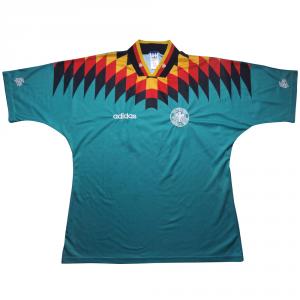 1994-96 Germania Maglia Away #22 Match Worn  L