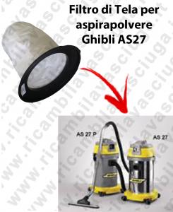 FILTRO TELA PER aspirapolvere GHIBLI modello AS 27