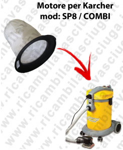 FILTRO TELA PER aspirapolvere GHIBLI modello SP 8 / COMBI
