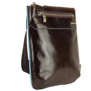 Shoulder bag Piquadro BLUE SQUARE CA1358B2 MOGANO
