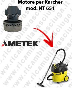 NT 651 Motore aspirazione AMETEK  per aspirapolvere KARCHER
