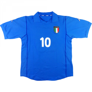 2002 Italia Maglia Home #10 (Donna) XL