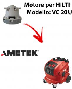 VC 20 U automatic MOTORE aspirazione AMETEK per aspirapolvere HILTI