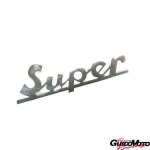 Targhetta anteriore -Super- per Vespa