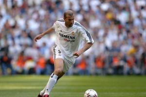 2003-04 Real Madrid Maglia Home #5 Zidane XL *Cartellino