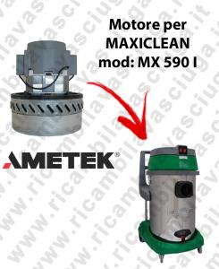 MX 590 I MOTORE AMETEK di aspirazione per aspirapolvere e aspiraliquidi MAXICLEAN