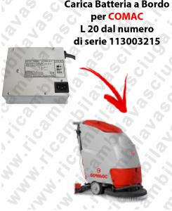 Caricabatteria a Bordo per lavapavimenti COMAC L 20 dal 113003215