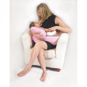 Cuscino gravidanza e allattamento multiuso Polly Beige/tortora related image