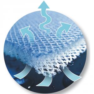 Materassino copriseduta Twister traspirante per seggiolino auto grigio 9-36Kg related image
