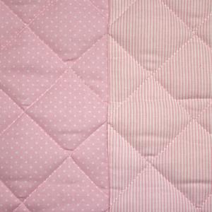 Mini letto riduttore 360° completo trapuntato Rosa related image