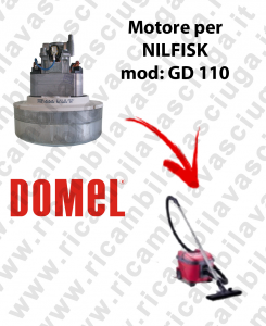 GD 110 motore aspirazione per aspirapolvere NILFISK