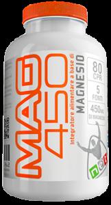 MAG 450 - Integratore Alimentare a base di Magnesio