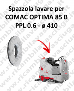 SPAZZOLA  in PPL 0.65 per lavapavimenti COMAC OPTIMA 85B