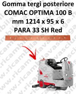 Gomma tergi posteriore per lavapavimenti COMAC tergipavimento OPTIMA 100B