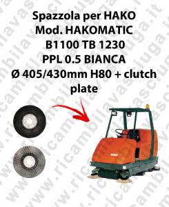 SPAZZOLA LAVARE  per lavapavimenti HAKO modello HAKOMATIC B1100 TB1230