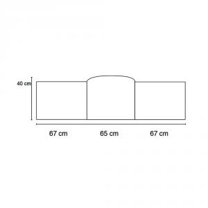 Babysanity Paracolpi per lettino/culla lati corti lunghezza 195 cm (Fantasia pulcino beige) … related image