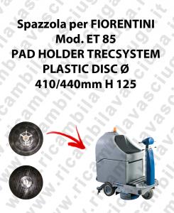 PAD HOLDER TRECSYSTEM  per lavapavimenti FIORENTINI modello ET 85