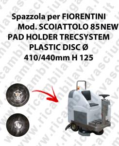 PAD HOLDER TRECSYSTEM  per lavapavimenti FIORENTINI modello SCOIATTOLO 85 NEW