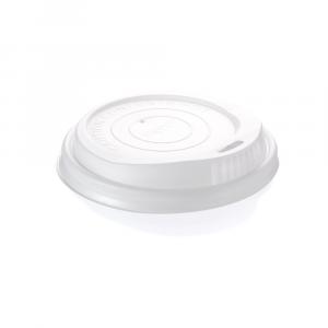Coperchi biodegradabili per bicchieri cartoncino 360-500ml