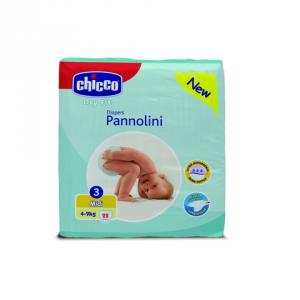 PANNOLINI DRY FIT 3 MIDI CHICCO_ 03922 ARTSANA CHICCO