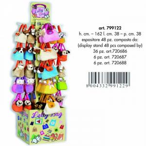 BORSETTA PET BAG CANI/GATTI/CAVALLI(48) 799122EXPO VENTURELLI PELUCHES